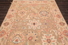 "Tibetan Oriental Area Rug Hand Knotted 100% Wool Traditional  (5'10""x8'10"")"