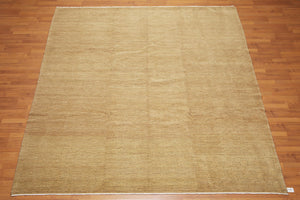 Oriental Area Rug Hand-Knotted Wool Modern Peshawar Design Vegetable Dyes (8'x10')