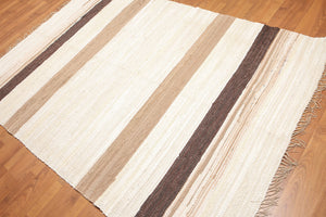 "Dhurry Reversible Modern Oriental Area Rug (6'2""x8'6"")"