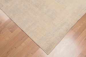 Oriental Area Rug Hand-Knotted Wool Contemporary  (5'x7')
