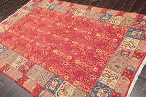 "Oriental Area Rug Hand Knotted 100% Wool Traditional Reversible (5'10""x8'10"")"