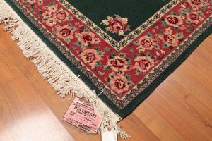 Oriental Area Rug Hand-Knotted 100% Wool  Traditional Persian Romanian  (4'x6')