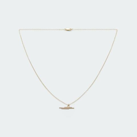 Sideway Lines Necklace