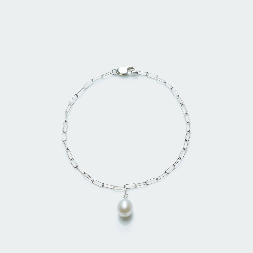 Bracelet with Single Pearl