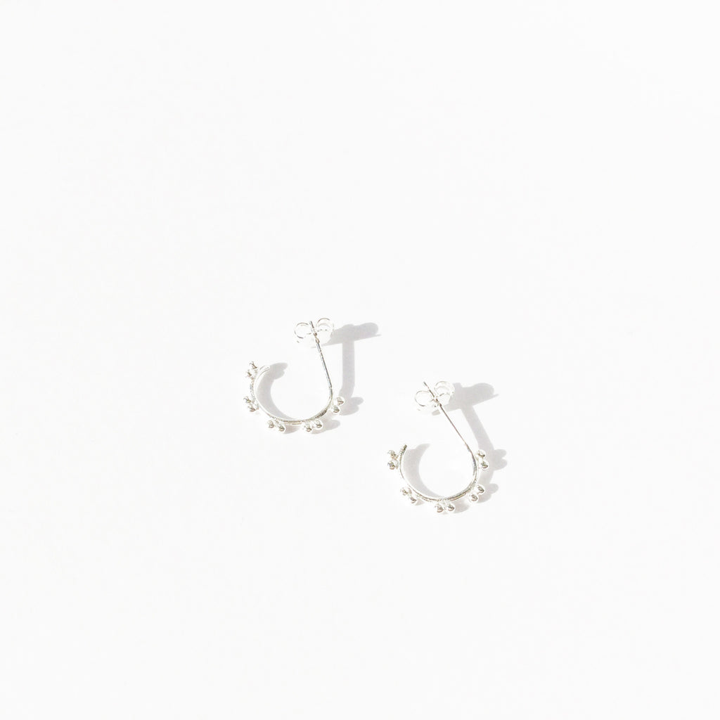 Dot Hoop Earring (Pair)