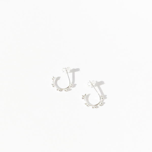 Dot Hoop Earrings (Single)