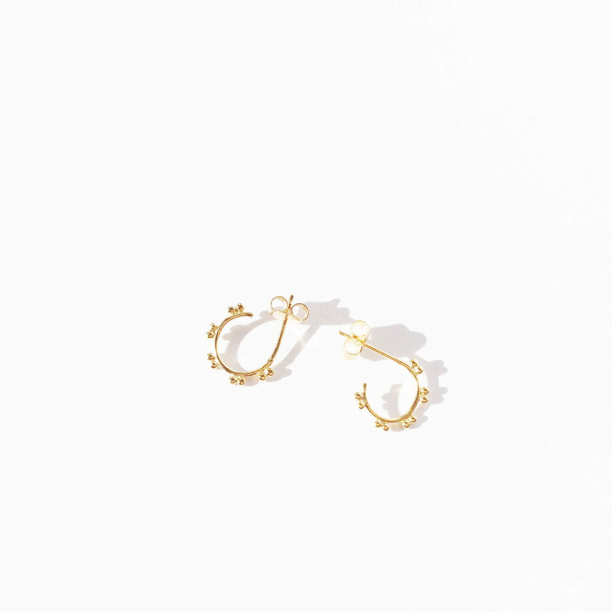 Dot Hoop Earrings - Single (5610183687)
