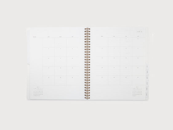 Appointed Year Task Planner 2019 - Dove Grey