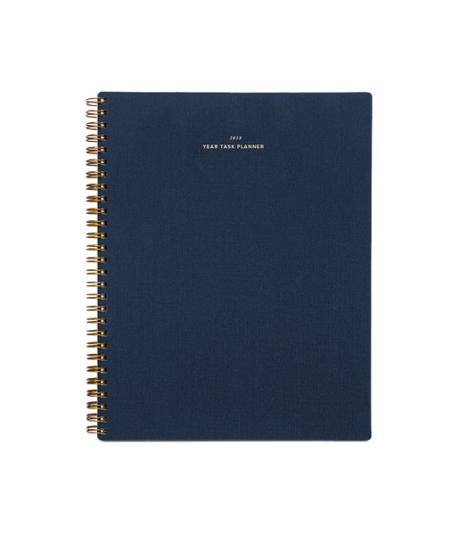 Appointed Year Task Planner 2019 - Oxford Blue