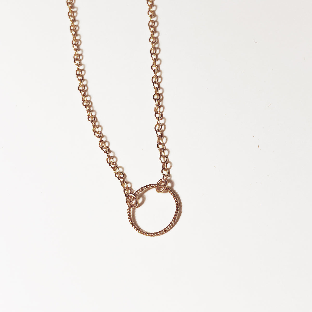Circle Rope Karma Necklace (7035954119)