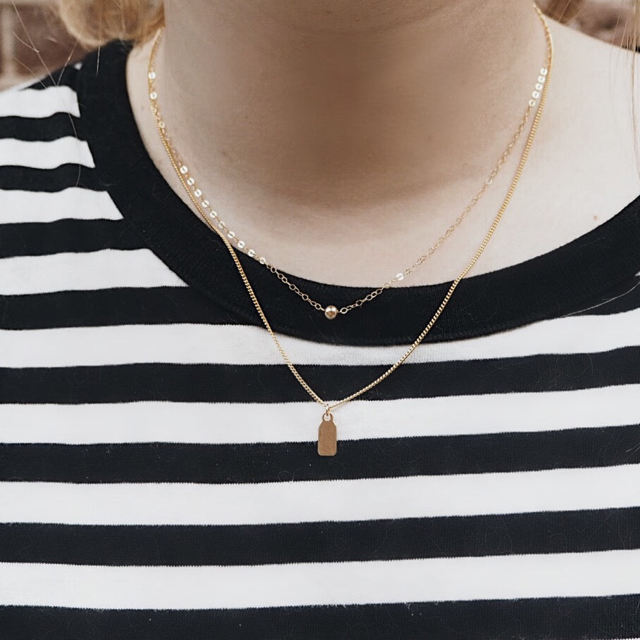Simple Dot Necklace (5717251911)