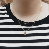 Simple Dot Necklace