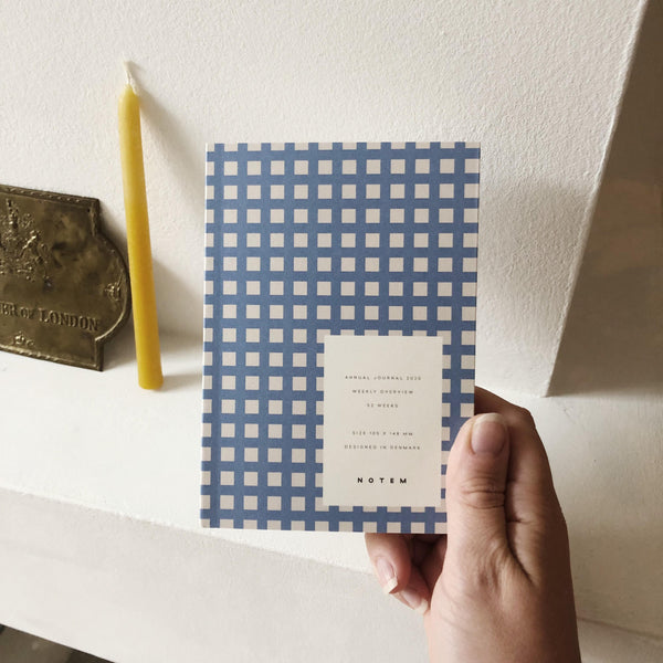 Notem 2020 Annual Planner Blue Check