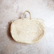 Oval Straw Bag