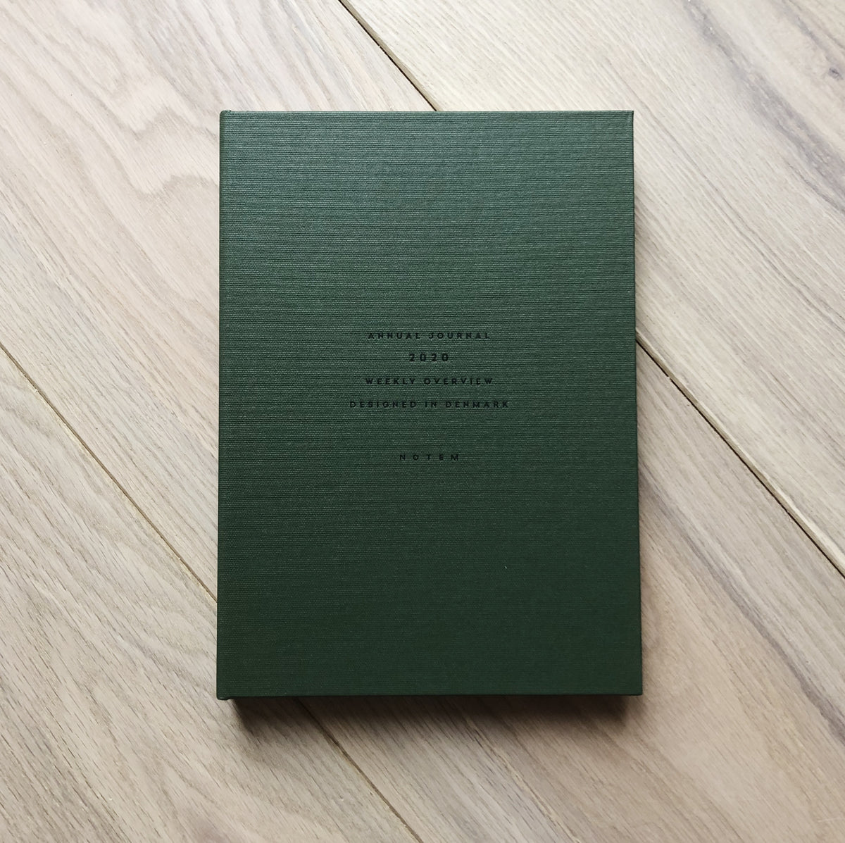Notem 2020 Annual Journal Green