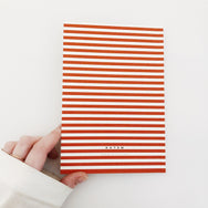 Notem Striped Notebook
