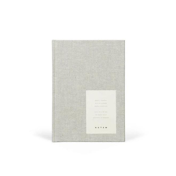 Notem Even Weekly Journal - Light Grey