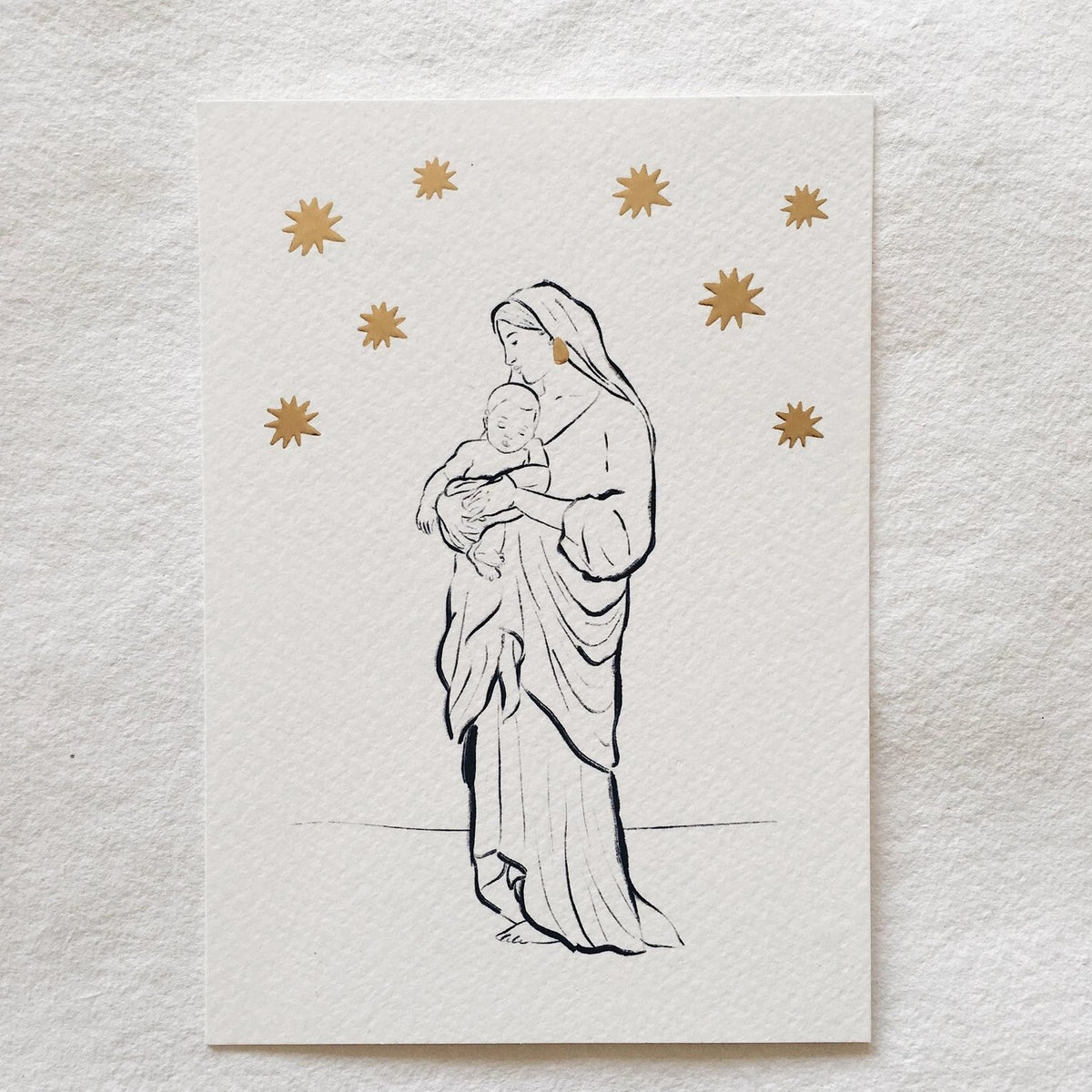 Holy Mary Card