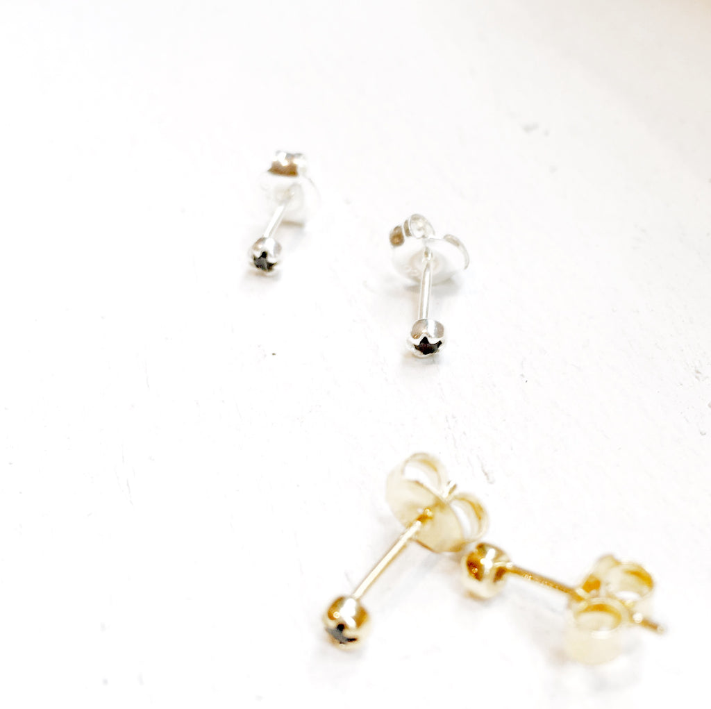 Sapphire Stud Earrings (pair)