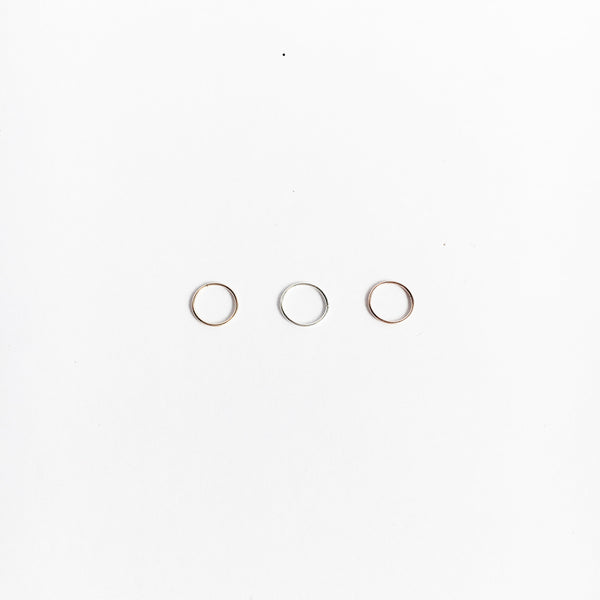 XS Hoop Earring - Single (7506196423)