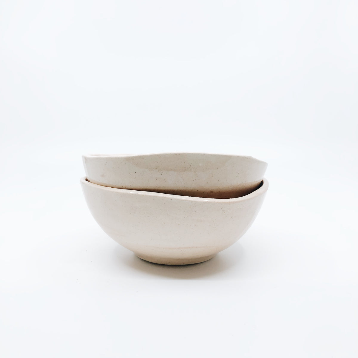 Malusi Ceramic Bowl Nude
