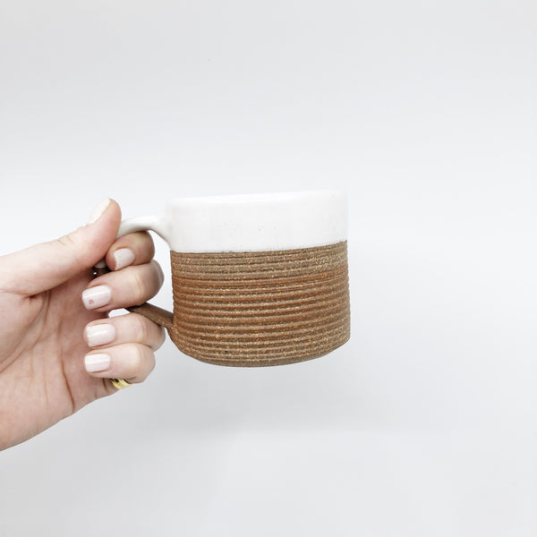 Ribbed Coffee Mug