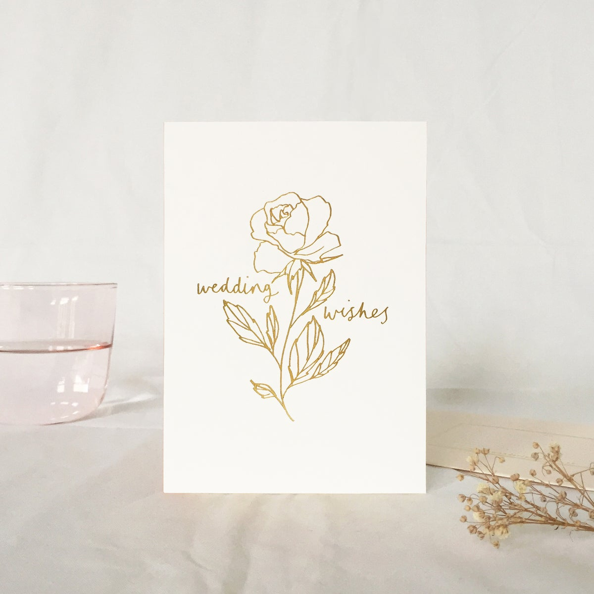 Gold Foil Card - 4 styles