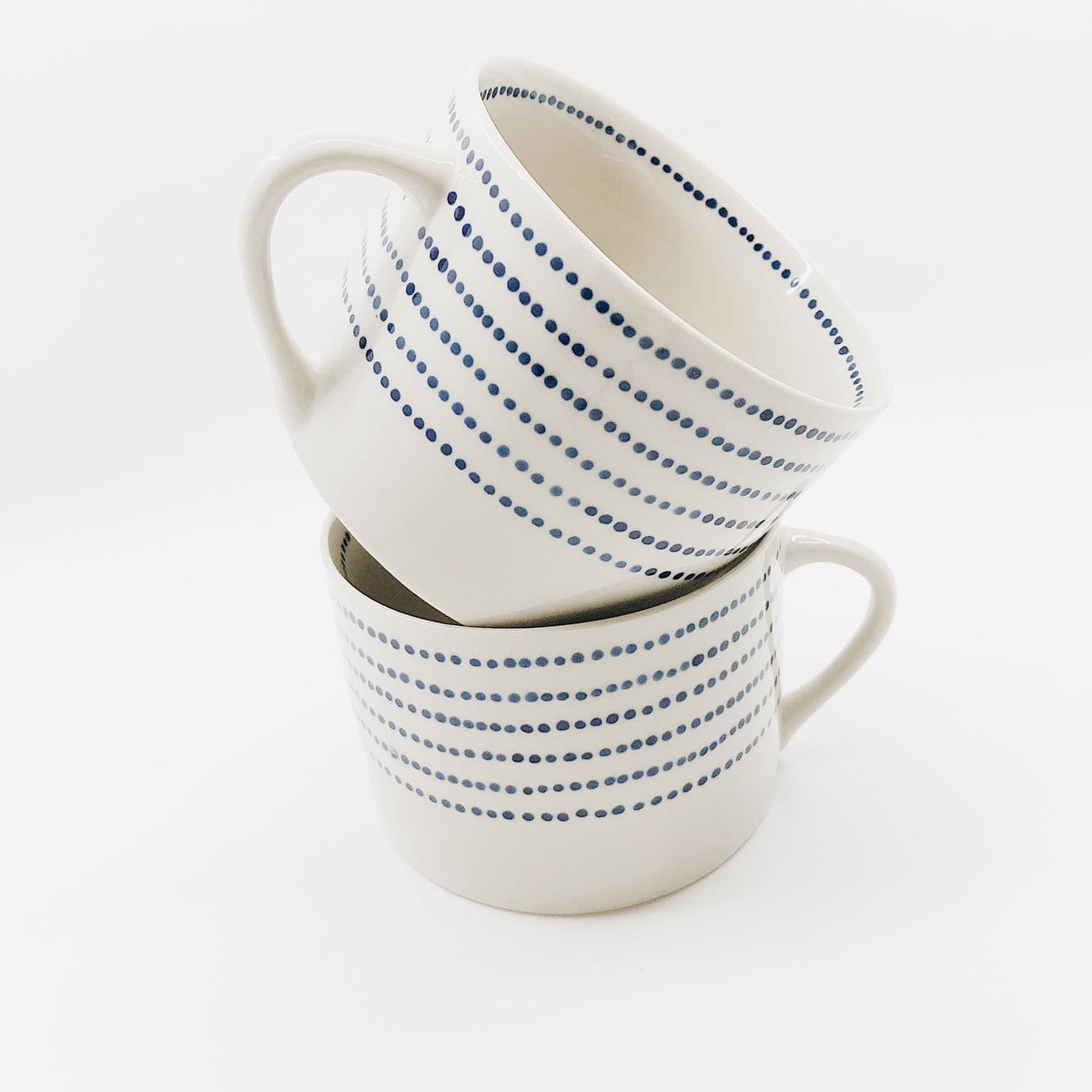 Bria Ceramic Dot Mug