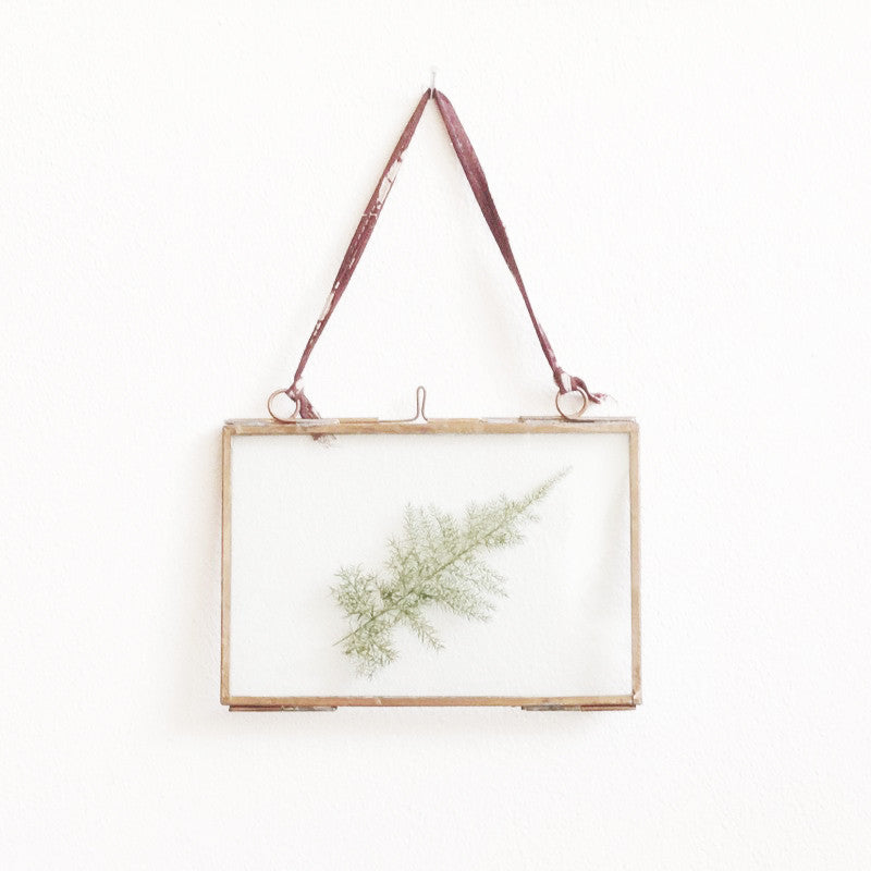 Fairtrade Brass Frame Small