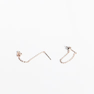 Chain Dangle Earrings - Single (7678486215)