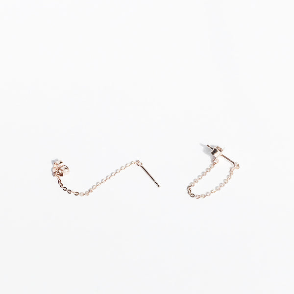 Chain Dangle Earrings (Single)