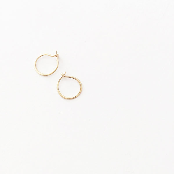 Tiny Hoop Earring (Pair)