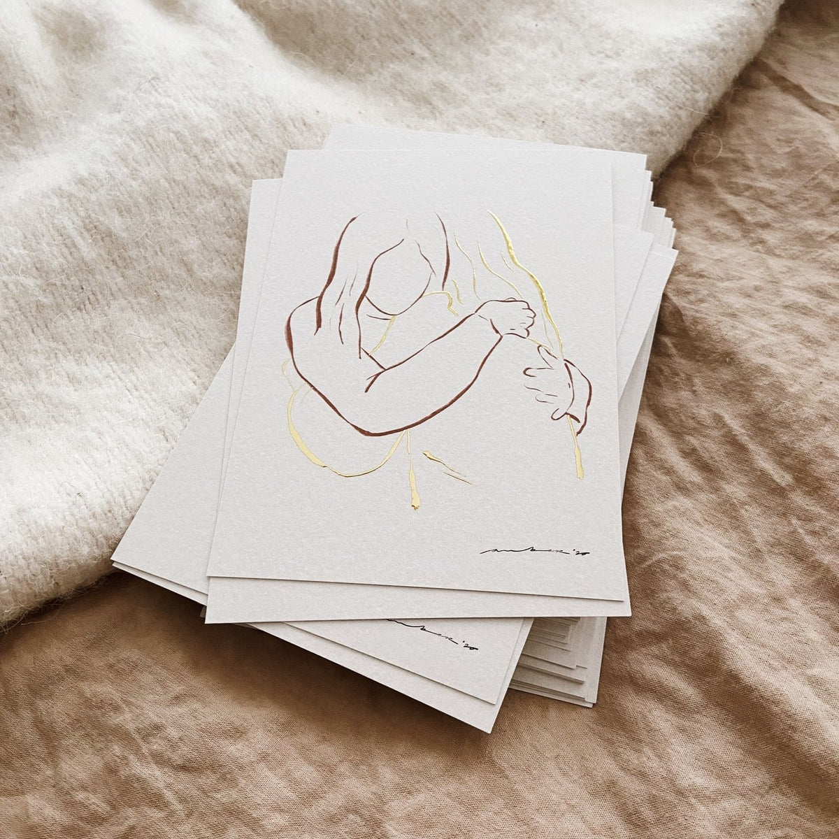 'You Are Golden' Card