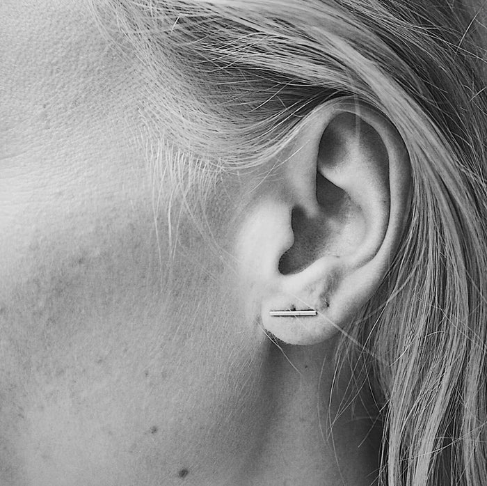 Simple Bar Earring (Pair)