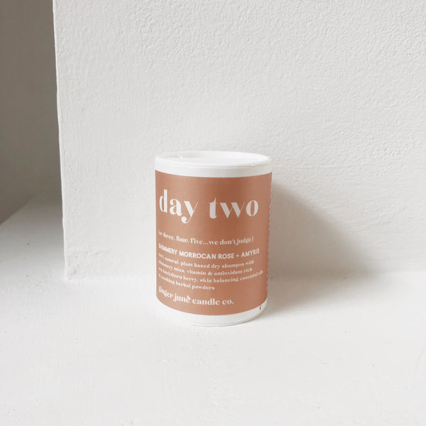 Day Two Dry Shampoo - Shimmery Morrocan Rose