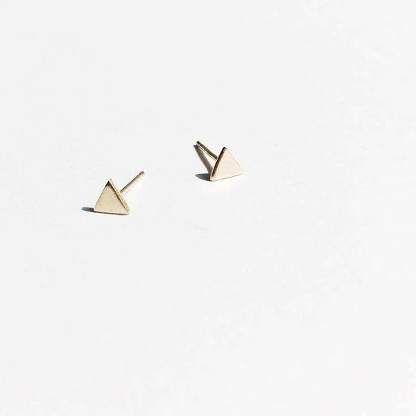 Triangle Studs - Pair