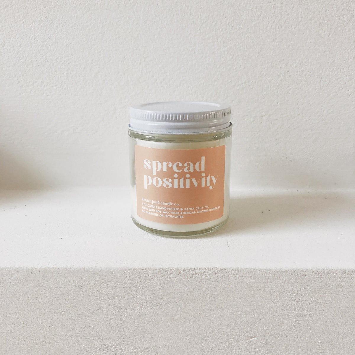 'Spread Positivity' Vegan Soy Candle
