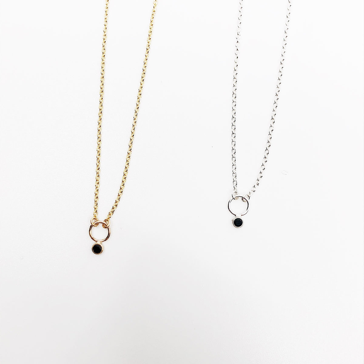 Linden Necklace Black
