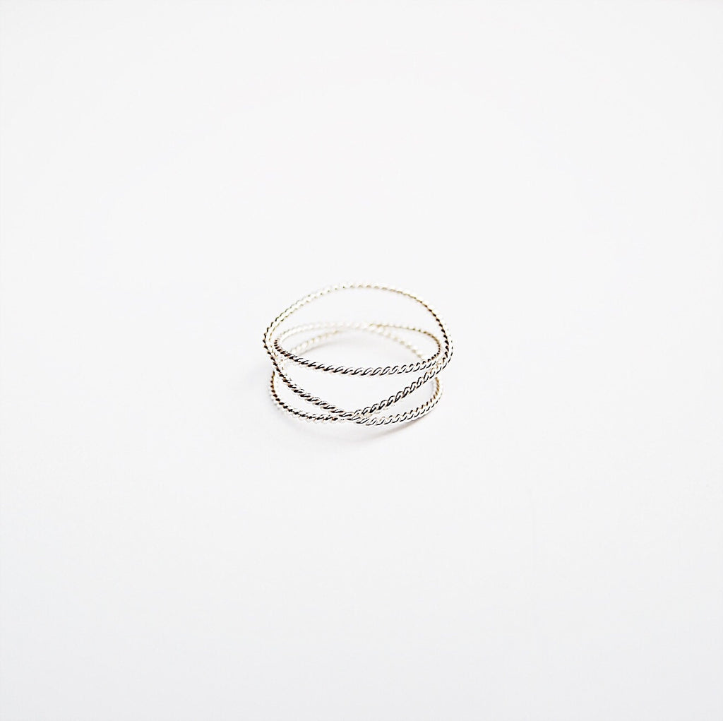 Twisted Wraparound Ring