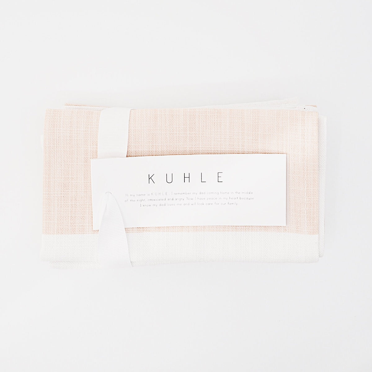 Kuhle Blush Napkin Set of 4