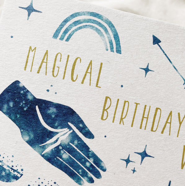 Magical Birthday Postcard