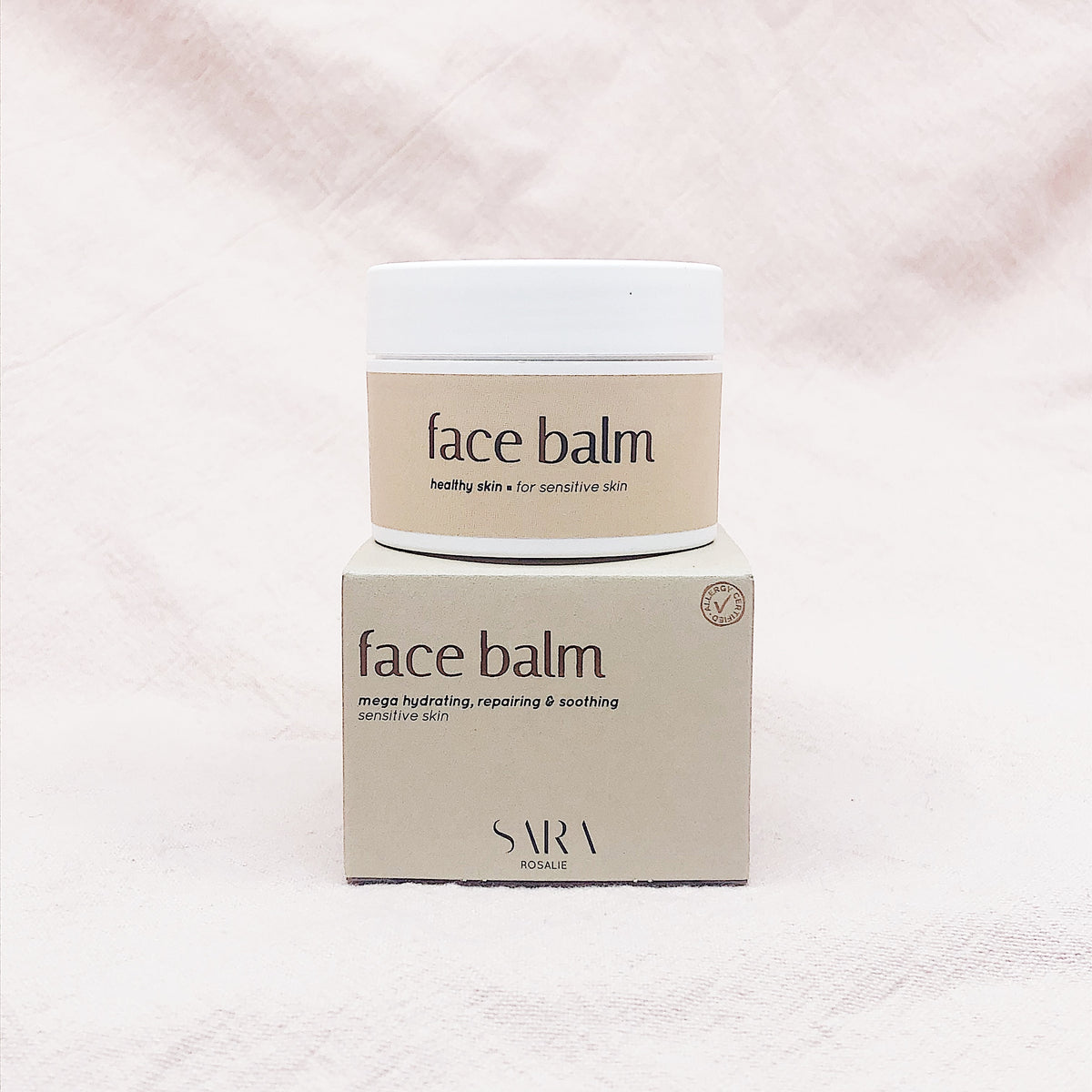 Face Balm - 100% Natural, Allergy Certified