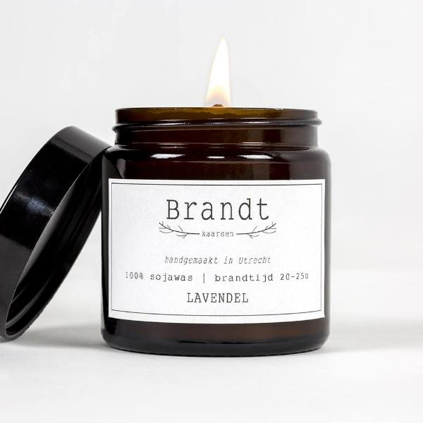 Soy Wax Candle - Lavendel (10504189834)