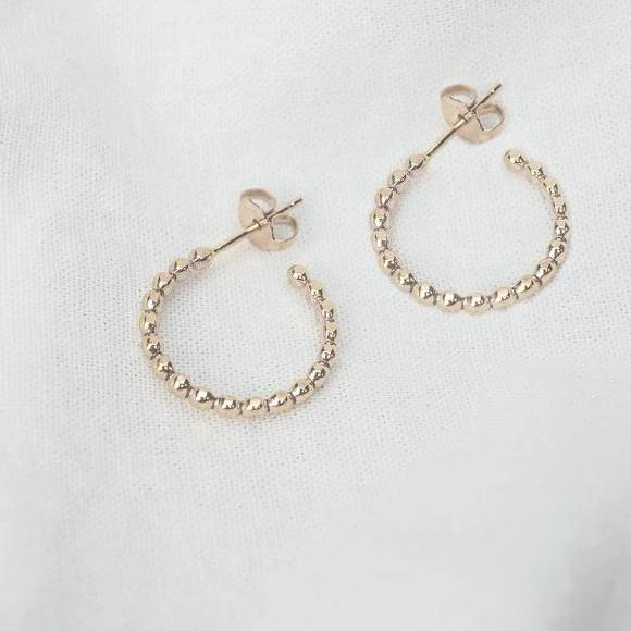 Sprinkle Hoops - Pair