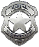 Custom Marshal Badge