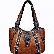 Western handbag Spur Brown