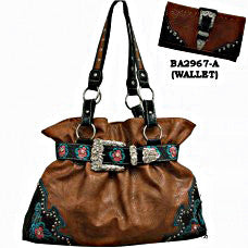 Western Wallet Brown for Handbag