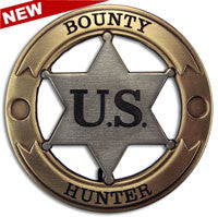 Bounty Hunter USA Badge