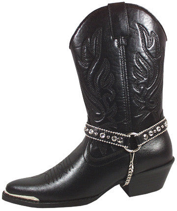 Charlotte Black Cowgirl Boot