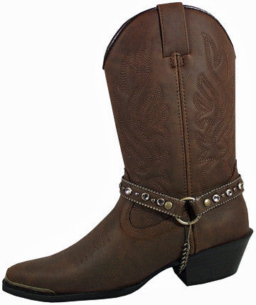 Charlotte Brown Cowgirl Boot